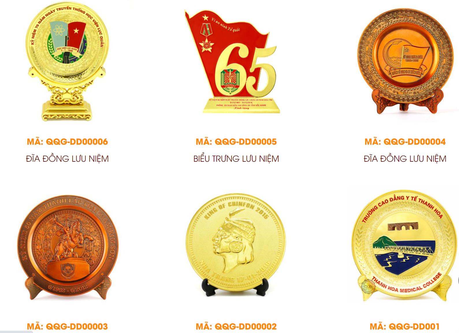 Sản xuất đĩa đồng đúc mạ vàng, đĩa đồng lưu niệm