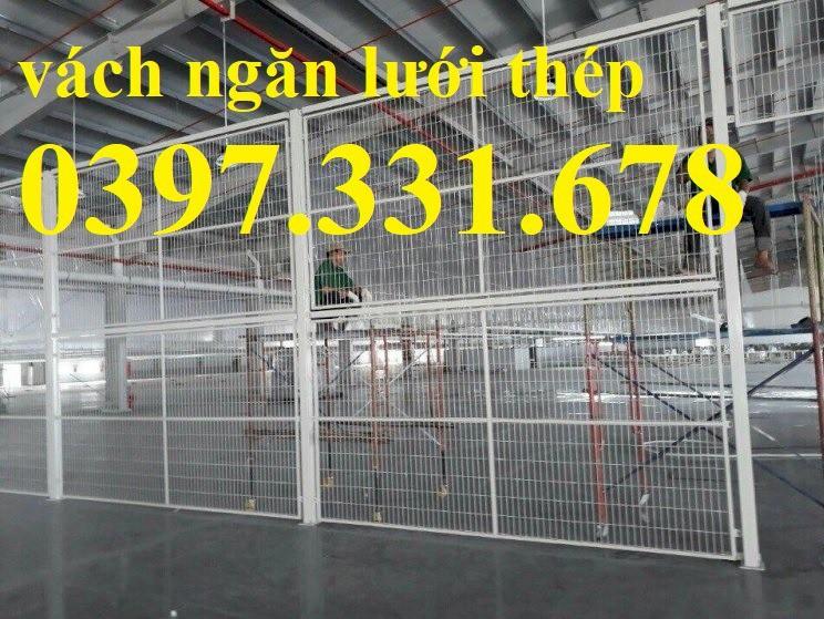 Thi công Hàng rào ngăn kho, vách ngăn kho, hàng rào bốt điện giá tốt