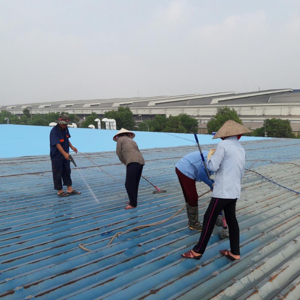 Chống nóng mái nhà xưởng