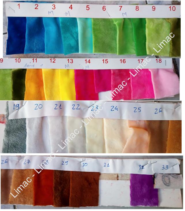 Gia công gối chữ U kê cổ vải nhung 33 màu sắc