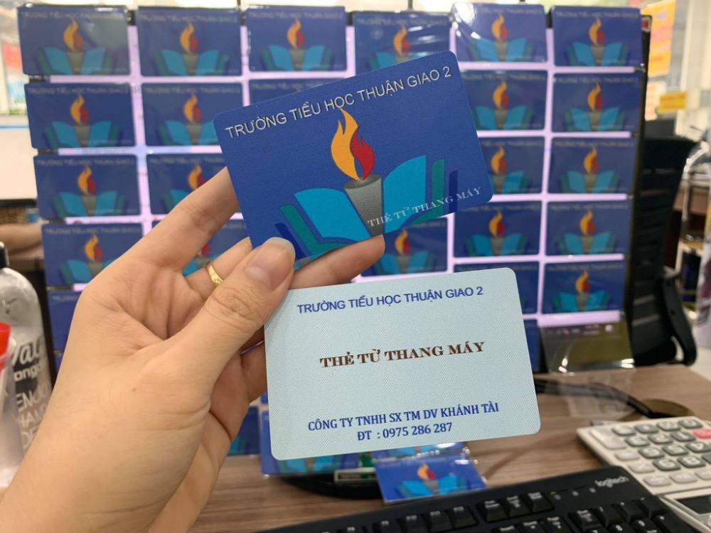 In thẻ từ thang máy TPHCM giao toàn quốc | In Kỹ Thuật Số Since 2006