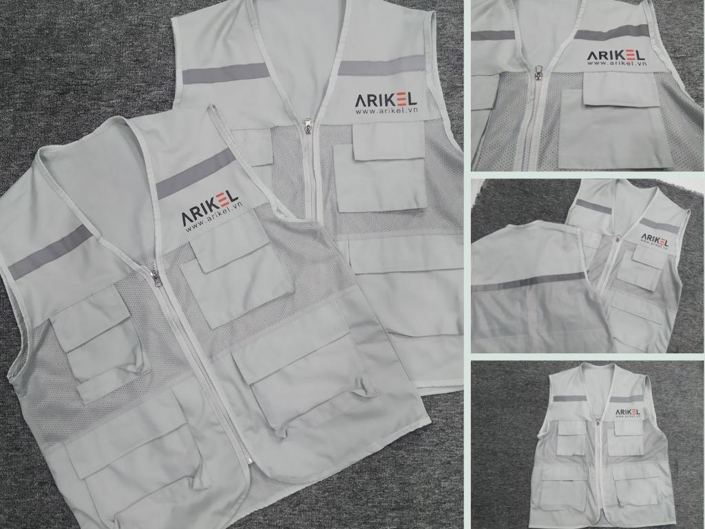 Xưởng may áo ghi lê - áo đồng phục kỹ sư nhà máy, công trình xây dựng TPHCM