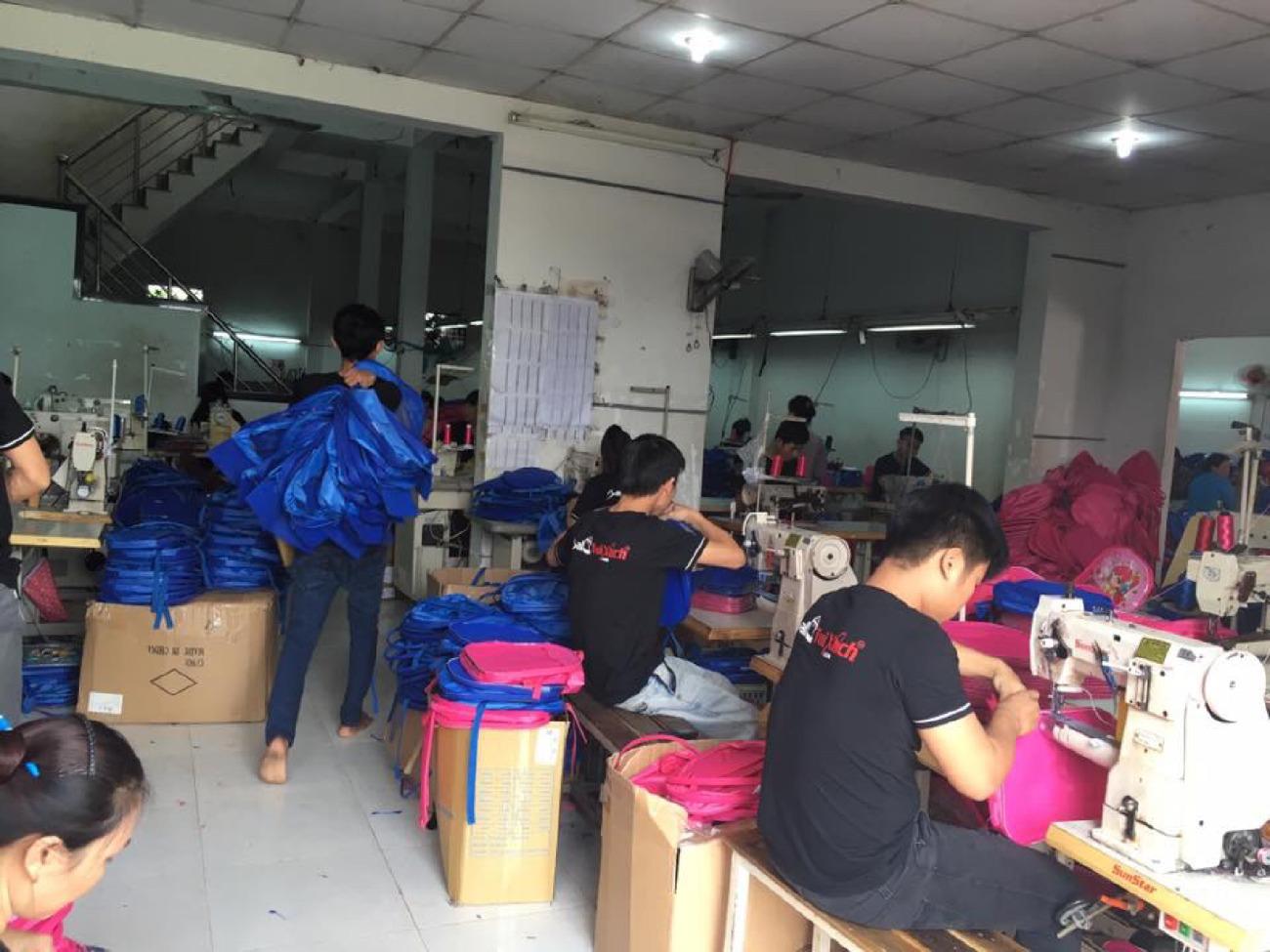 Xưởng sản xuất túi