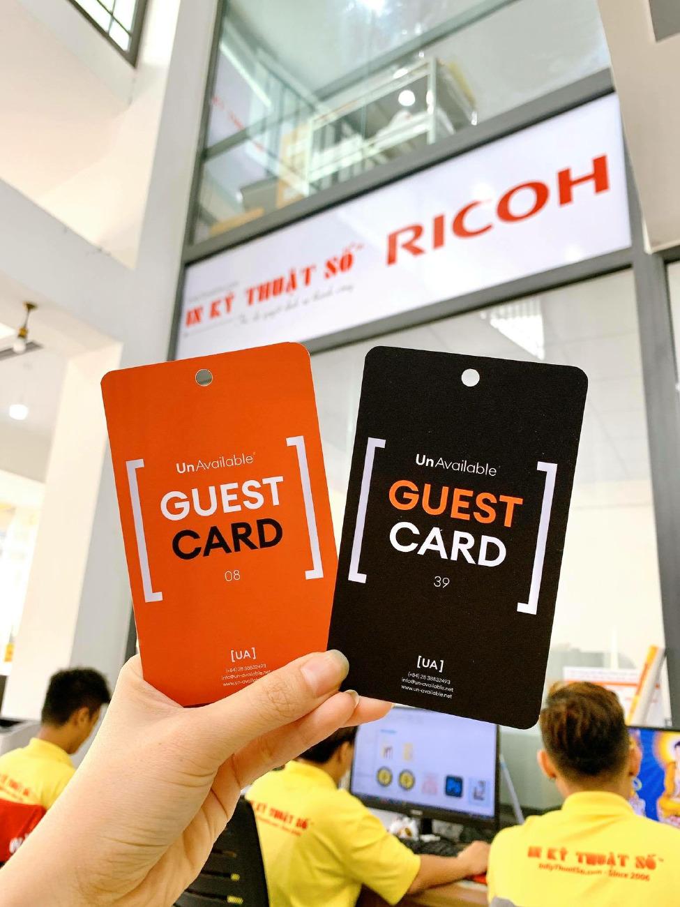 In thẻ ra vào công ty, in thẻ chung cư, in thẻ ra vào tòa nhà