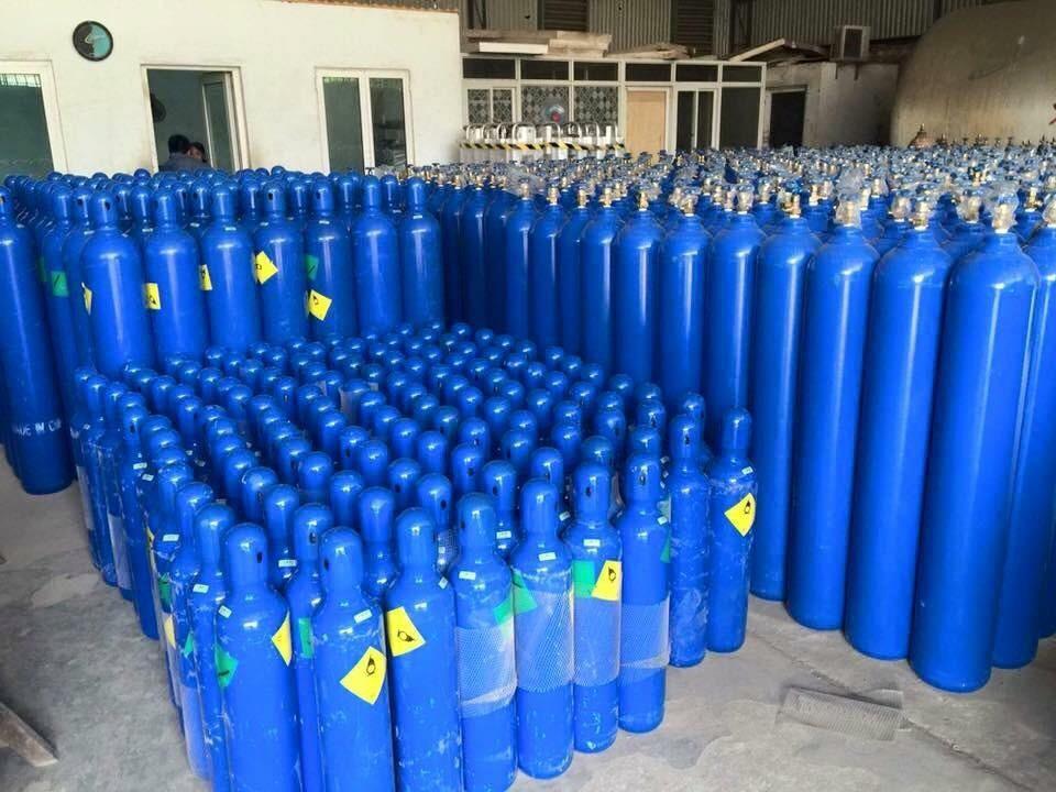 Cho thuê bình khí Oxy thở  tại Hóc Môn, Quận 12, Gò Vấp, Tân Bình