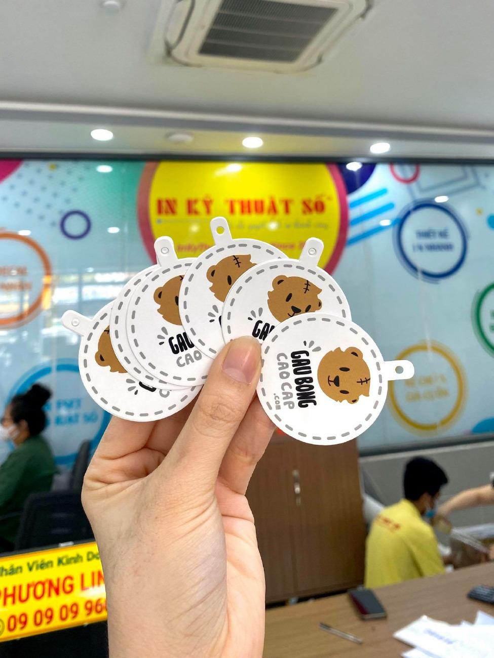 Top 10 công ty in thẻ treo, tag treo bông tai tại Việt Nam Printing