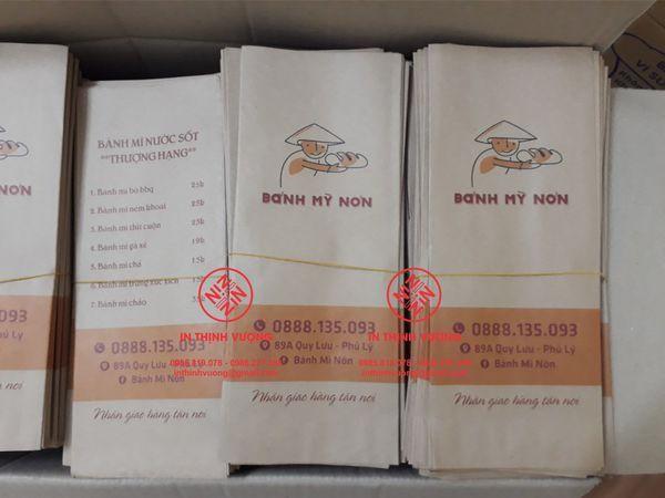 Địa chỉ in túi bánh mì, cơ sở sản xuất túi bánh mì