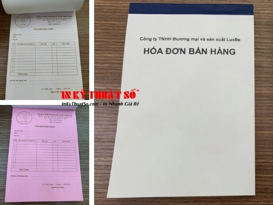 Top 10 xưởng in hóa đơn bán hàng giá rẻ TPHCM
