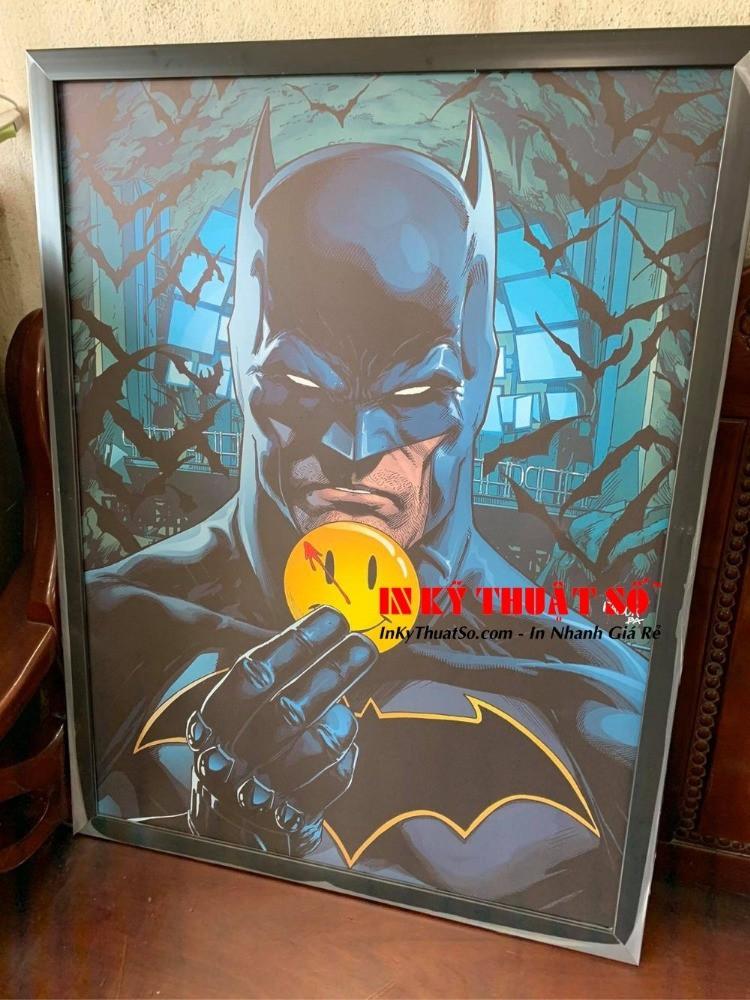 In tranh Batman - in tranh người dơi - in tranh siêu anh hùng | In Kỹ Thuật Số Since 2006