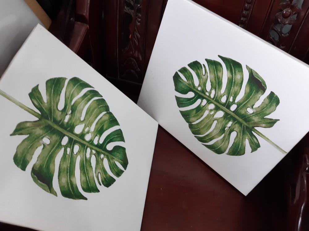 Tranh in Leaf - Green Leaf Botanical - Tropical Leaf Print - Tranh LEAF | In Kỹ Thuật Số Since 2006