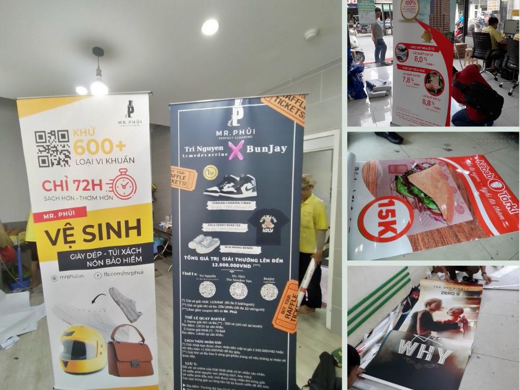 Top 10 xưởng in poster quảng cáo đồ ăn, mỹ phẩm, điện thoại, bán căn hộ, nhà đất TPHCM