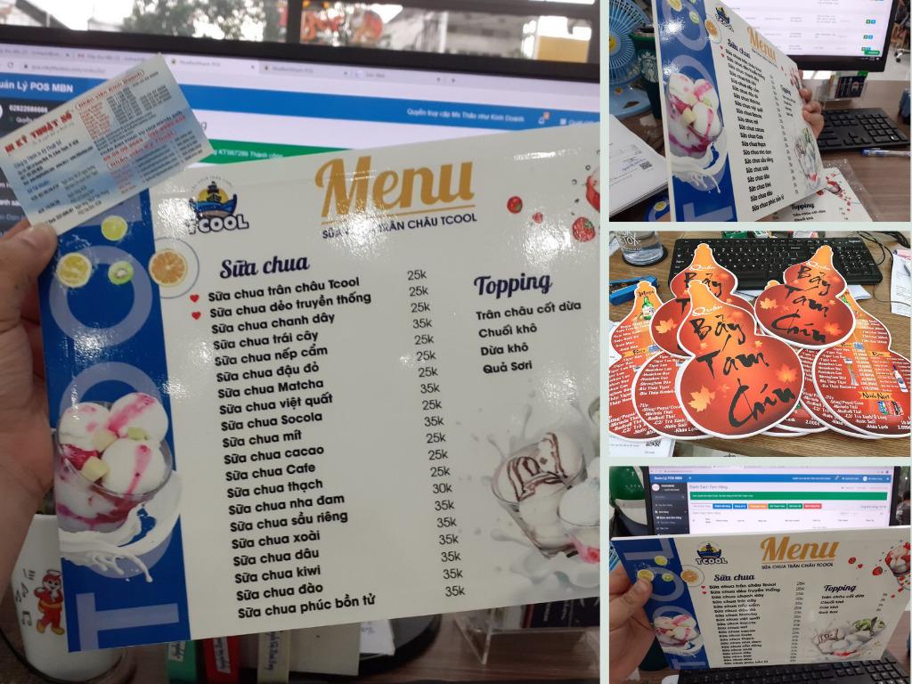 Top 10 dịch vụ thiết kế menu uy tín - in menu nhà hàng, menu cafe, spa chất lượng TPHCM
