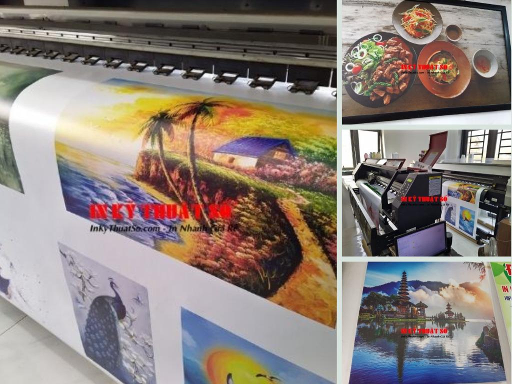 Top 10 xưởng in tranh trang trí, tranh tường trang trí nghệ thuật theo yêu cầu TPHCM